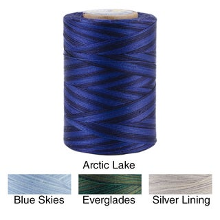 Star Mercerized Cotton Thread Variegated 1200 Yards