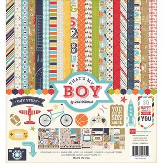 "That's My Boy Collection Kit 12""X12in"
