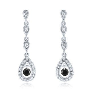 10k White Gold 2/5ct TDW Diamond Earrings (H-I, I1-I2)