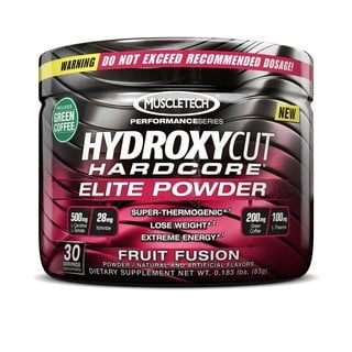 Hydroxycut Hardcore Fruit Fusion Elite Powder (30 Servings)