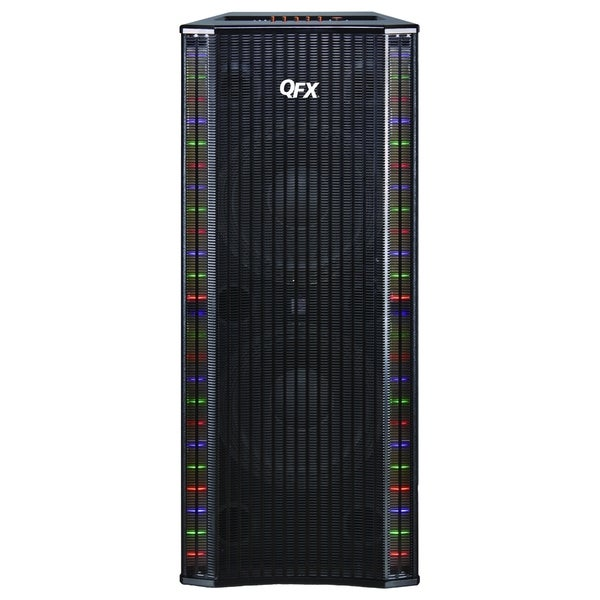 QFX SBX-410202BT Speaker System - Wireless Speaker - Black - USB