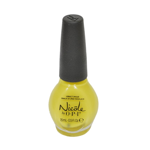 OPI Nicole Yellow It's Me Nail Polish