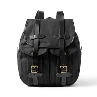 Filson Black Rucksack Backpack