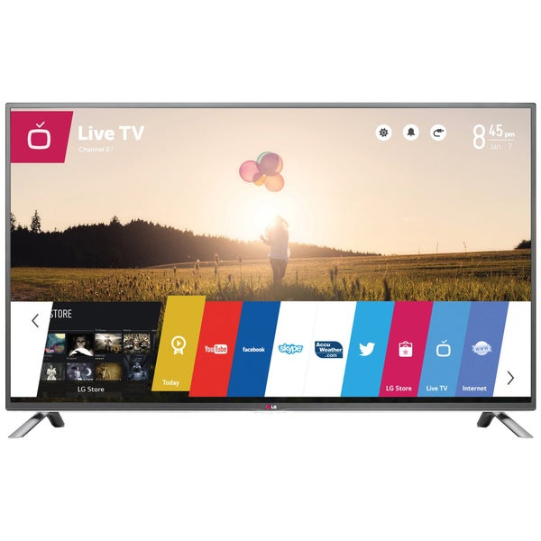 """LG 60LB6300 60"""" 1080P 120HZ LED Television with web OS"""