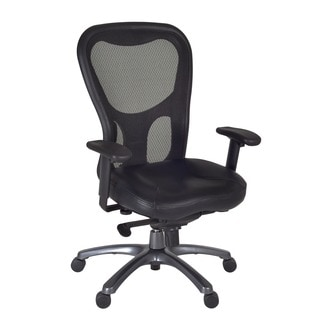 Citi Executive Black Mesh Swivel Arm Chair