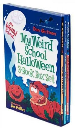 My Weird School Halloween Box Set: It's Halloween, I'm Turning Green! / Mrs. Patty Is Batty / Miss Mary Is Scary (Paperback)