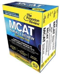 The Princeton Review MCAT Subject Review Complete Set: New for MCAT 2015 (Paperback)