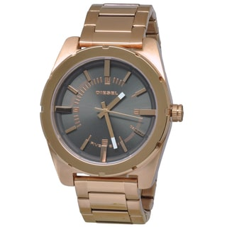 Diesel Men's 'Good Company' DZ5383 Rose Goldtone Watch