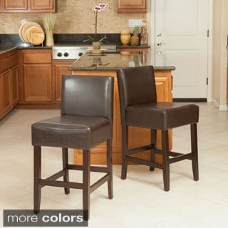 Christopher Knight Home Mondrian KD Counterstools (Set of 2)