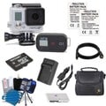 GoPro HERO3+ Black Edition Camcorder 32GB Bundle