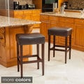 Christopher Knight Home Mondrian KD Backless Barstool (Set of 2)