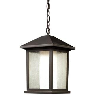 Z-Lite Mesa 1-light Oil Rubbed Bronze Outdoor Chain Light