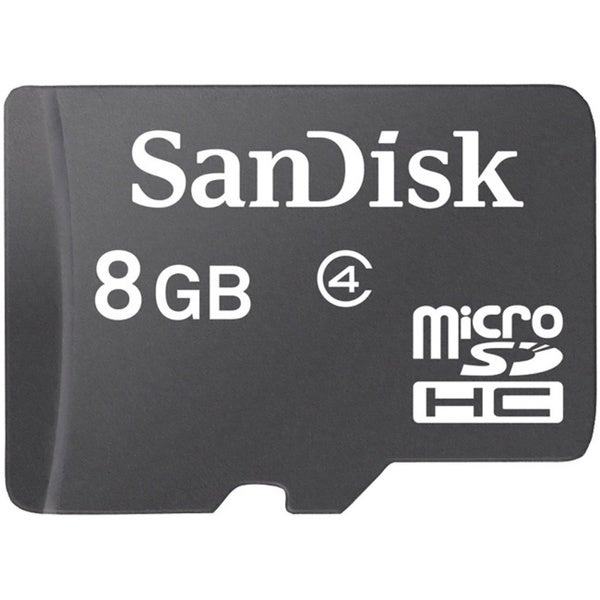 Sandisk 8GB Micro SD Card With Adapter
