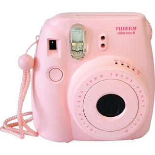 Fujifilm Instax Mini 8 Instant Film Pink Camera