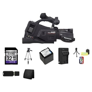 Panasonic AG-AC7 Shoulder Mount AVCHD Camcorder 32GB Bundle