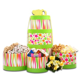 Sunny Days Tower of Treats Gift Tower