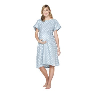 Bably Be Mine Gownie Hospital Gown with Pillowcase in Nicole