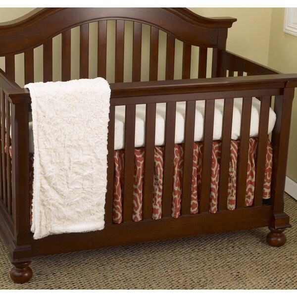 Cotton Tale Raspberry Dot 7-piece Crib Bedding Set