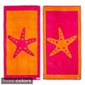Starfish Reversible Oversized Beach Towel