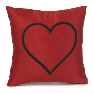 Hortense B. Hewitt Red Heart Pillow