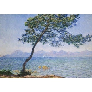 Claude Monet 'Antibes in the Morning' Oil on Canvas Art