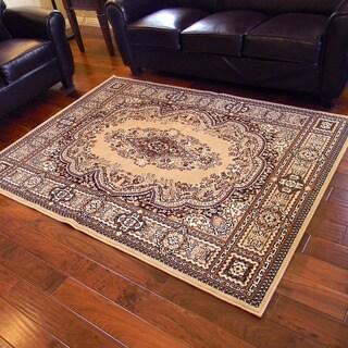 TajMahal 109 Berber Oriental Design Area Rug (5' x 7')