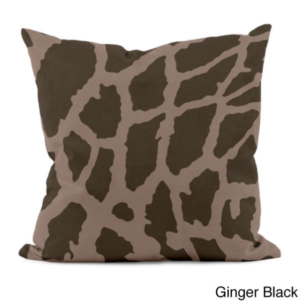 Animal Spots 20x20-inch Decorative Pillow