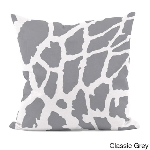 Animal Spot Print 18x18-inch Decorative Pillow