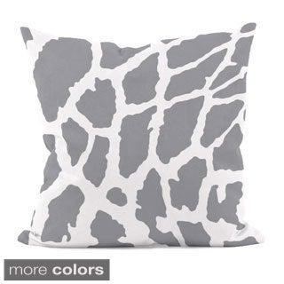 Animal Spot Print 18x18-inch Decorative Pillow