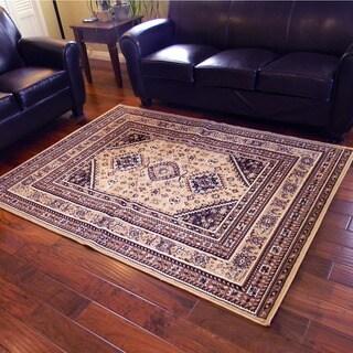 TajMahal 105 Berber Oriental Design Area Rug (5' x 7')