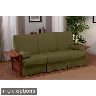 Bellevue Perfect Sit & Sleep Transitional-style Pillow Top Full-size Futon Sofa