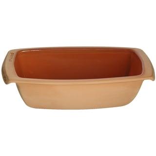 Romertopf Glazed Rectangular Bread Mould Clay Cooker