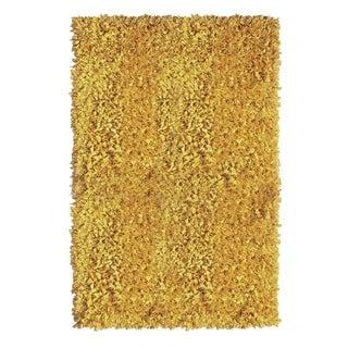 Jersey Yellow Shag Rug (5' x 8')