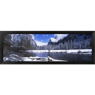 'Yosemite National Park, California' Framed Panoramic Photo