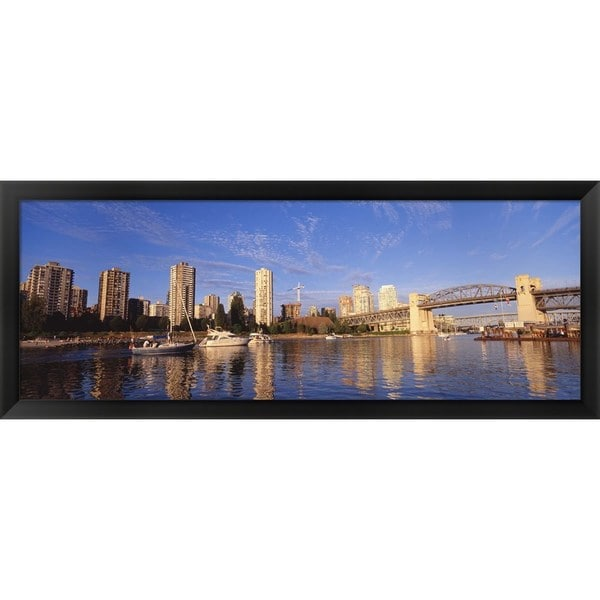 'Vancouver, Canada' Framed Panoramic Photo