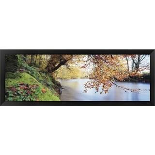 'River Dart, Devon, England' Framed Panoramic Photo