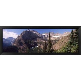 'US Glacier National Park, Montana' Framed Panoramic Photo