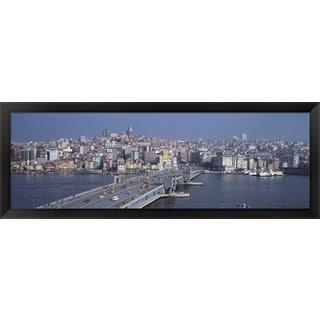'Turkey, Istanbul' Framed Panoramic Photo