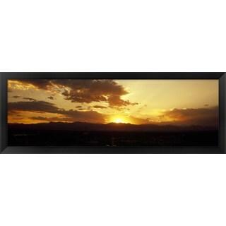 'Denver, Colorado' Framed Panoramic Photo