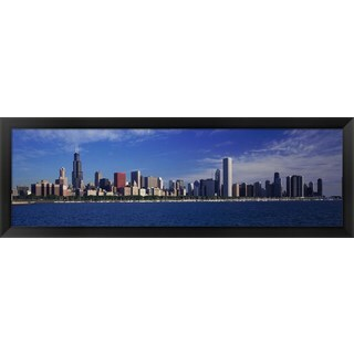 'Chicago, Illinois' Framed Panoramic Photo