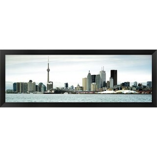 'CN Tower, Toronto, Canada' Framed Panoramic Photo
