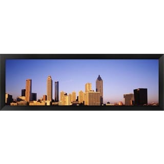 'Atlanta, Georgia' Framed Panoramic Photo