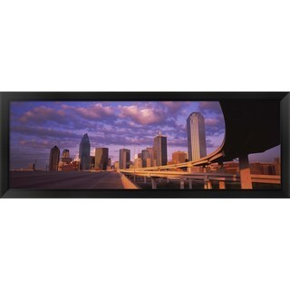 'Dallas, Texas' Framed Panoramic Photo