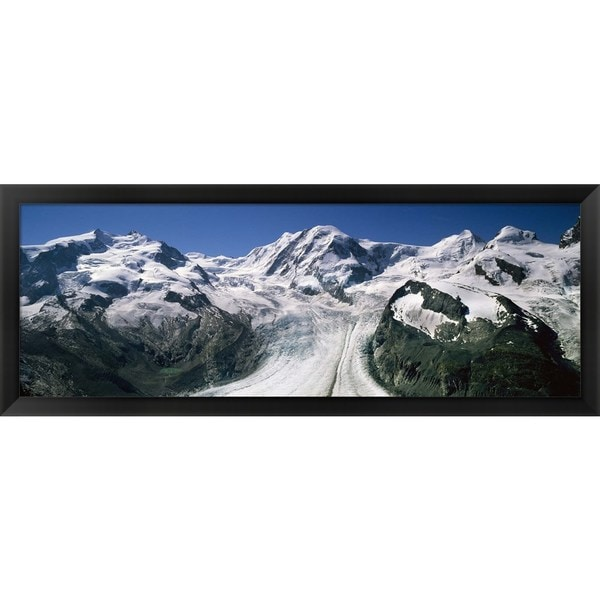 'Matterhorn, Switzerland' Framed Panoramic Photo