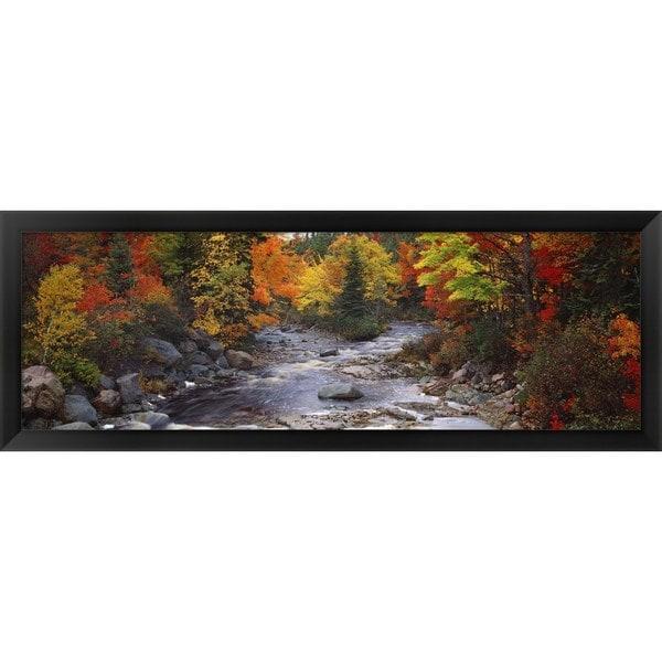 'Nova Scotia, Canada' Framed Panoramic Photo