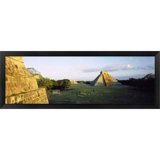 'Chichen Itza, Yucatan, Mexico' Framed Panoramic Photo