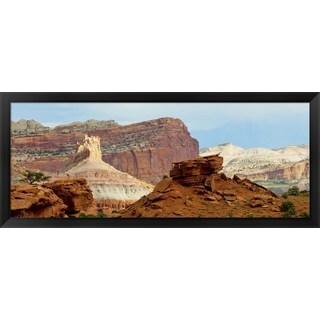 'Capitol Reef National Park, Utah' Framed Panoramic Photo