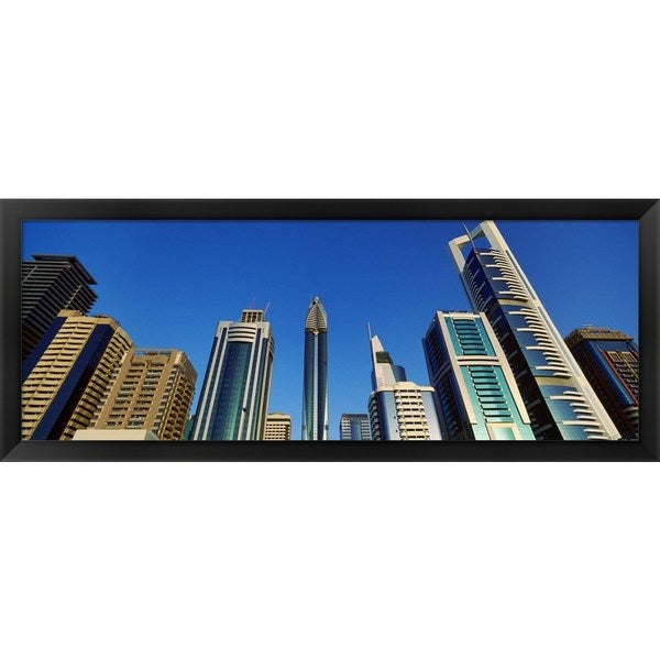 'Dubai, United Arab Emirates' Framed Panoramic Photo