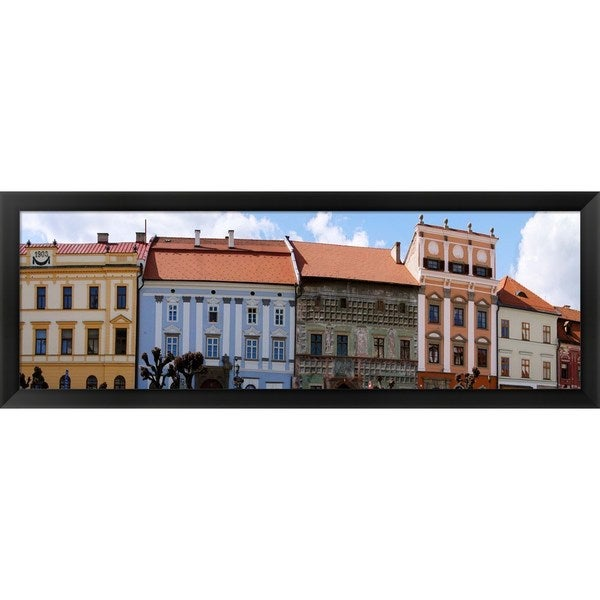 'Levoca, Slovakia' Framed Panoramic Photo