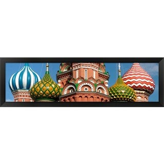 'St. Basil's Cathedral, Moscow, Russia' Framed Panoramic Photo